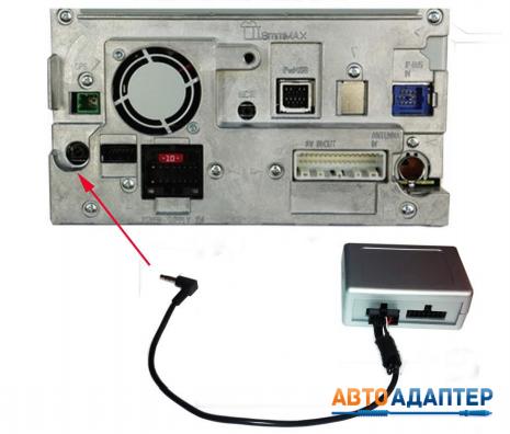 подключение автомагнитолы в BMW с помощью адаптера