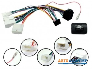 Connects2 CTSDC002 адаптер кнопок на руле Renault Dokker Sandero Logan Lodgy Duster 2012+