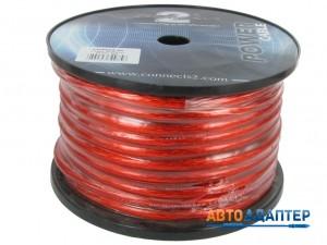 Connects2 CTPR604 силовой кабель 4AWG красный