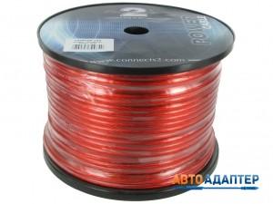 Connects2 CTPR608 силовой провод 8AWG красный