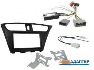 Connects2 CTKHD06 набор для установки автомагнитолы 2DIN в Honda Civic 2012+