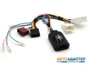 Connects2 CTSMT007.2 CAN-Bus адаптер рулевого управления Mitsubishi Pajero с усилителем Rocford Fosgate