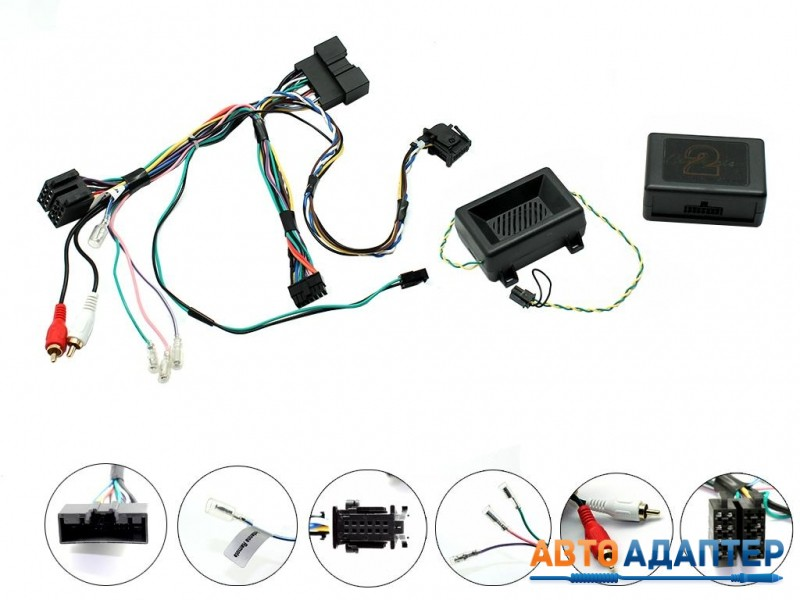 Connects2 CTSFO008.2 адаптер кнопок руля Ford