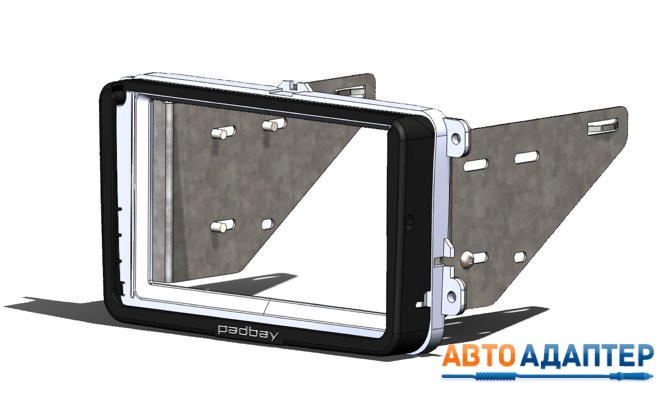 переходная рамка для магнитолы 2DIN и iPad mini