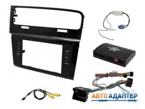 Connects2 CTKVW09L переходная рамка с адаптером кнопок на руле для VW Golf 7