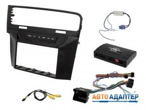Connects2 CTKVW08L переходная рамка с адаптером кнопок на руле для VW Golf 7