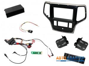 Connects2 CTKPJP02 установочный комплект для замены штатной магнитолы Jeep Grand Cherokee 2014+