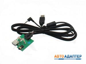 Connects2 CTKIAUSB.2 удлинитель штатного разъема USB/AUX для KIA