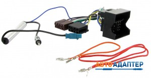 Connects2  CT20VW02 ISO переходник VW с антенным адаптером