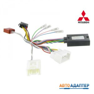 Connects2 CTSMT002.2 CAN-Bus адаптер рулевого управления Mitsubishi Lancer Outlander с усилителем Rockford Fosgate