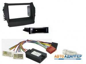 Connects2 CTKHY15 набор для установки автомагнитолы 2DIN в Hyundai Santa Fe 2013+