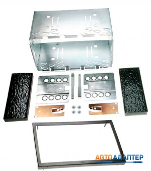 CARAV 14-004 универсальная переходная рамка с шахтой 2DIN
