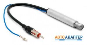 CARAV 13-012 антенный переходник ISO -> DIN с фантомным питанием