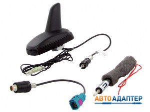 Connects2 CT27UV50 антенна акулий плавник с фантомным питанием