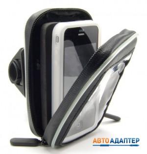 Arkon SM032 велодержатель с влагозащищенным кейсом для смартфонов навигаторов